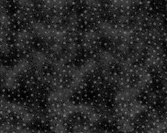 1/2 yd Forever Fashion Norway Dots Fabric by David Textiles DT-4916-5C-3 Magnet Gray