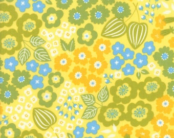 1/2 yd Lazy Days Floral by Gina Martin for Moda Fabrics 10070 13