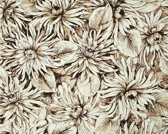 1/2 yd Bellissimo Floral Fantasy Fabric by Michele D'Amore for Contempo/Benartex 03970 77