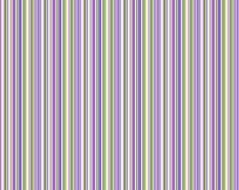 "REMNANT 7"" Chelsea Barcode Stripe Fabric // Northcott Studio 23062-10"