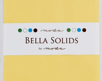 Bella Solids Charm Pack 9900PP 23s 30's Yellow