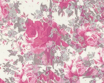SALE Rose Water Broken Glass Fabric by Tina Givens for Free Spirit Fabrics PWTG179.PINKX PER yard