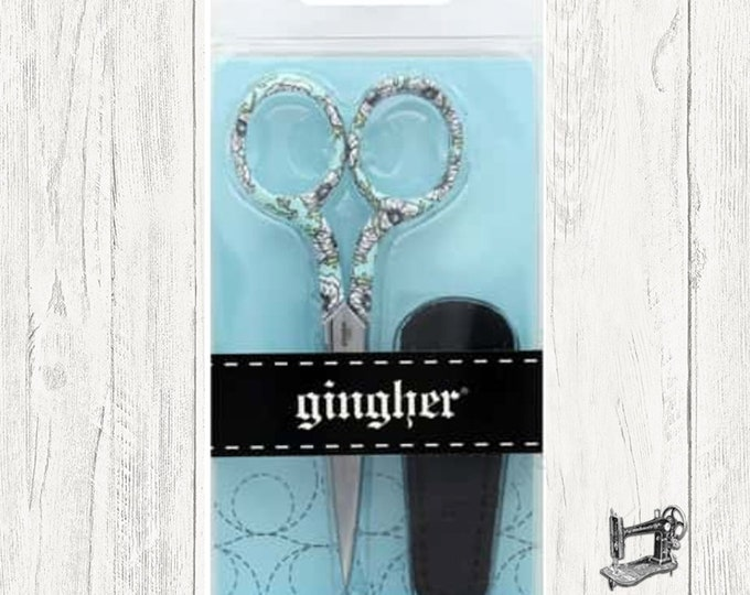 "Gingher Designer Series Eleanor 4"" Embroidery Scissors 220272-1014"