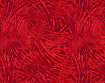 1/2 yd Essentials Chopsticks Texture Fabric by Wilmington Prints 1817 39079 333 Red