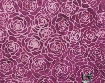1/2 yd QUILTESSENTIALS BOTANICALS Batik by Anthology Fabrics 400Q-7