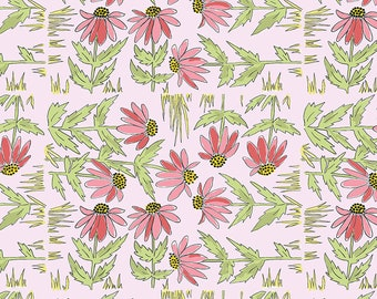 1/2 yd Color Fusion Daisy by Laura Heine for FreeSpirit Fabrics PWLH018.PINK