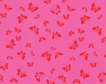 1/2 yd Lazy Days Tonal Butterflies by Gina Martin for Moda Fabrics 10073 15