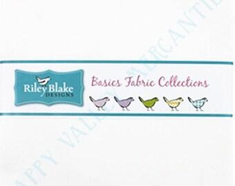 "Confetti Cottons by Riley Blake 10"" Stacker/Layer Cake 10-120-RWHITE-42"