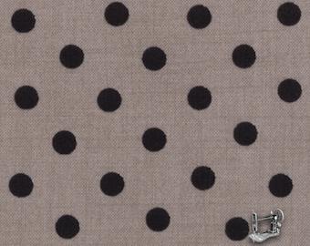 1/2 yd Little Black Dress Polka Dot Fabric by BasicGrey for Moda 30307 14