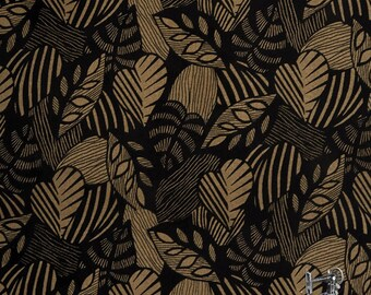 Sgraffito Leaf Fabric // Contempo Studio // Benartex 10102 77 by the HALF YARD