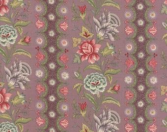 1/2 yd Jardin de Versailles Floral Botanique Lavender by French General for Moda Fabric 13811 13
