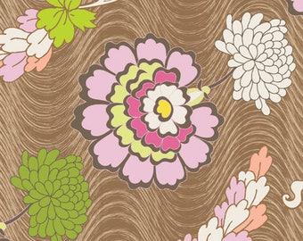 1/2 yd Naturella Carnations by Art Gallery Fabrics NA 5807 Terra