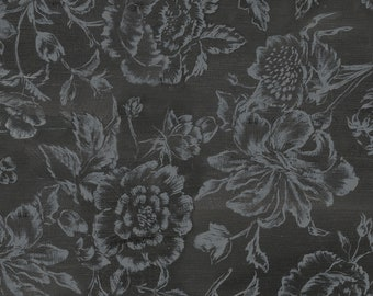 1/2 yd French Couture Parisian Floral by David Textiles Fabric 3800-4C-1