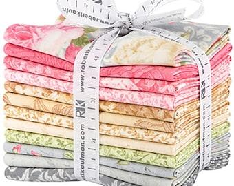 Paris Romance Antique Fat Quarter Bundle by Tre Sorelle Studios for Robert Kaufman FQ-1403-12