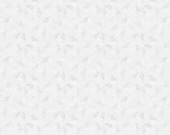 1/2 yd White Shimmer by Riley Blake SC305-130 100% sparkle cotton