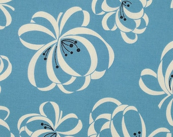 1/2 yd SALE Katie Jump Rope Ribbon Floral by Denise Schmidt for Free Spirit PWDS107 ALLUR