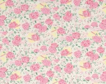 1/2 yd Snapshot Rosebuds by Verna Mosquera for FreeSpirit Fabrics PWVM116 Pearl