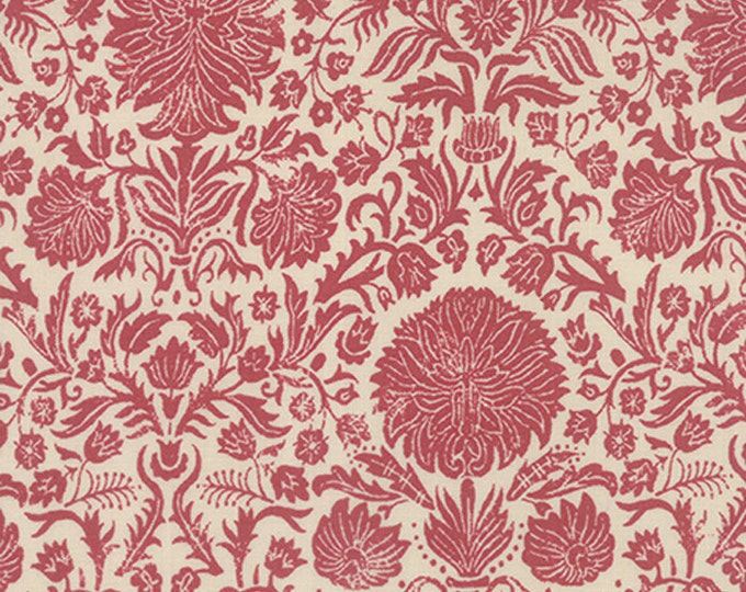 1/2 yd Joyeux Noel by French General for Moda Fabric 13711 18 Faded Red