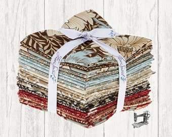 Merton Pre Cut Fat Quarter Bundle by Morris & Co for Free Spirit Fabric FB1FQWM.MERTO
