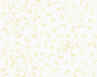 1/2 yd Love Me, Love Me Not Falling Petals Fabric by Lewis & Irene LEIA272-1