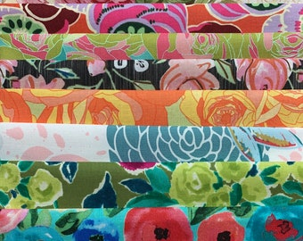 Collage Cuts Floral Pack // Kit // Remnants // Free Spirit // Moda // Quilting Treasures // Michael Miller // Art Gallery G