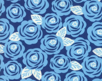 1/2 yd Lazy Days Floral Roses by Gina Martin for Moda Fabrics 10071 19