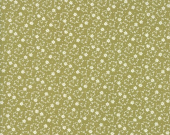 Oxford Tiny Flowers Fabric // Sweetwater // Moda Fabrics 5711 12 by the HALF YARD