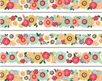 SALE Adornit Bloom Trim Fabric T-00652 PER yard