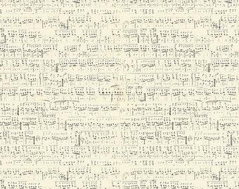 Tim Holtz Foundations Symphony Fabric // FreeSpirit PWTH022.NEUTR by the Half Yard