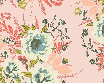 1/2 yd Forest Floor Wild Posy Flora by Bonnie Christine for Art Gallery Fabrics FOR-47700