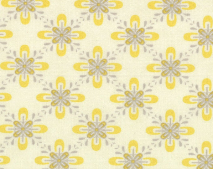 1/2 yd Baby Jane by Eric & Julie Comstock of Cosmo Cricket for Moda Fabrics 37063 22 Cream Mustard