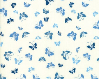 1/2 yd Lazy Days Porcelain Butterflies by Gina Martin for Moda Fabrics 10073 13