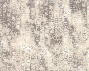 Metropolis Cipher Fabric // BasicGrey // Moda Fabrics 30566 15 Marble by the HALF YARD