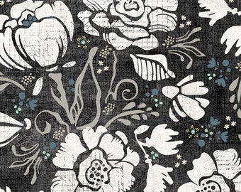 1/2 yd Farmhouse Fields Field of Blooms by Adornit Fabrics 00685