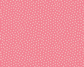 1/2 yd Paper Dolls Bakery Dots for Penny Rose Fabrics & Riley Blake C4355 PINK