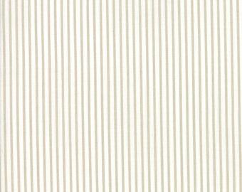 Smitten Pinstripe Fabric // Bonnie & Camille // Moda by the Half Yard