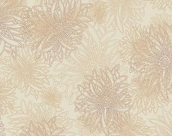 1/2 yd Floral Elements Sand Basic by Art Gallery Fabrics FE 504