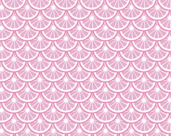 1/2 yd Pink Lemonade Citrus Slices by Camelot Fabrics 3240105 1 Pink