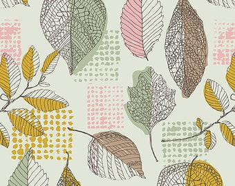 1/2 yd Sketchbook Golden Framework by Sharon Holland for Art Gallery Fabrics SBK 37207