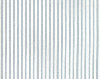 Vintage Holiday Metallic Candy Stripe Fabric // Bonnie & Camille // Moda by the HALF YARD