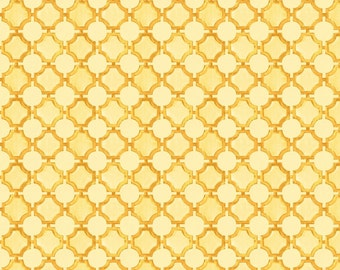 SALE Sunshine Circle Grid // Lisa Audit // Wilmington Prints 86382 555 by the YARD