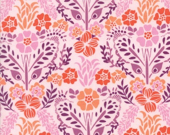 1/2 yd Grand Canal Floral Giardinin Pink by Kate Spain for Moda Fabrics 27253 18