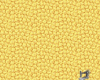 1/2 yd Little House on the Prairie Flowers by Kathy Hall for Andover Fabric A-7949-Y