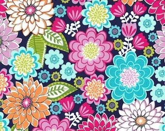 1/2 yd Sweet Emma Jewel Floral by Michael Miller Fabrics  CX7274-JEWE