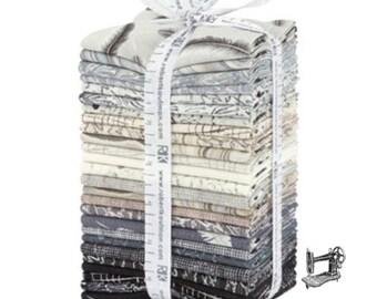 Chalk & Charcoal Fat Quarter Bundle by Jennifer Sampou for Robert Kaufman Fabrics FQ-1341-26