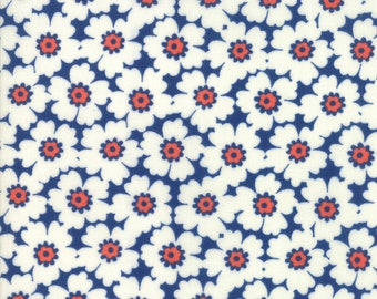 1/2 yd Lazy Days Cosmos by Gina Martin for Moda Fabrics 10072 22