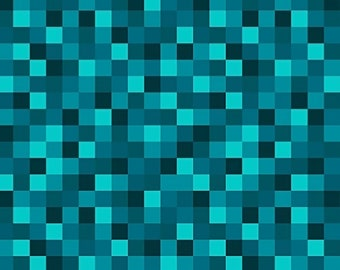 1/2 yd Gemstone Pixelated Fabric by Whistler Studios for Windham Fabrics 50615-5