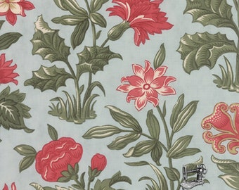 1/2 yd Under the Mistletoe Flourish by 3 Sisters for Moda Fabric 44070 14