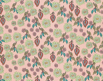 1/2 Yd Flock Together Field Of Flowers by Kathy Doughty for FreeSpirit Fabrics PWMO003.8PRET
