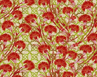 Pastiche Mum Trellis Fabric by Jason Yenter for In The Beginning by the Half Yard